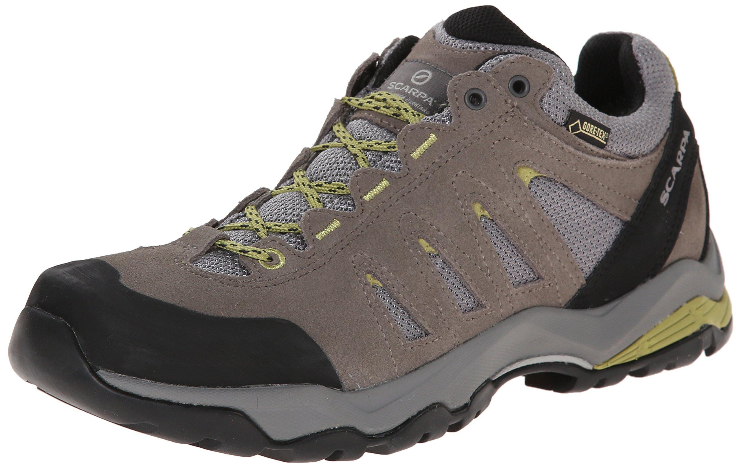 SCARPA Women's Moraine GTX Hiking Shoe, Taupe/Celery, 37 EU/6 M US