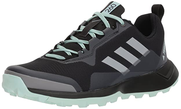 adidas outdoor Women's Terrex CMTK W Walking Shoe, Black/Chalk White/ash Green, 8.5 M US best women's hiking shoes