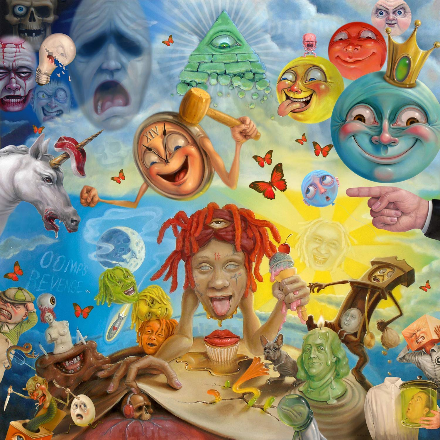 Lifes A Trip Music giclee Record LP Reprint 12x12 chronical collection Album Cover Poster Thick TRIPPIE REDD