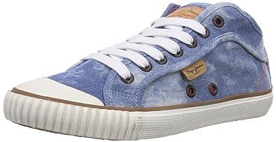 59ba1720b85 Pepe Jeans London Industry Basic Denim Baskets Basses Femme