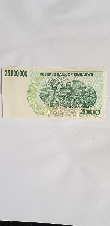 500,000,000 DOLLARS BANKNOTE by zimbabwe ZIMBABWE 2008
