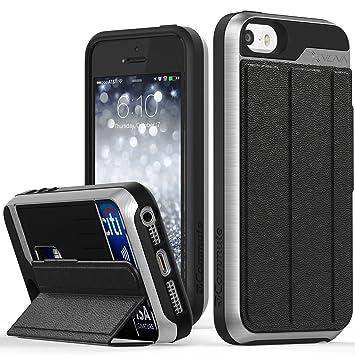 05fa10ff93 Amazon | iPhone SE ケース、Vena [vCommute] 財布型フリップ革製バック ...