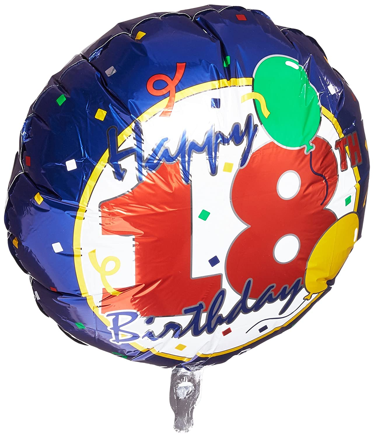 Amazon 18 Happy 18th Birthday Foil Balloon Qualatex For Party Toys Games