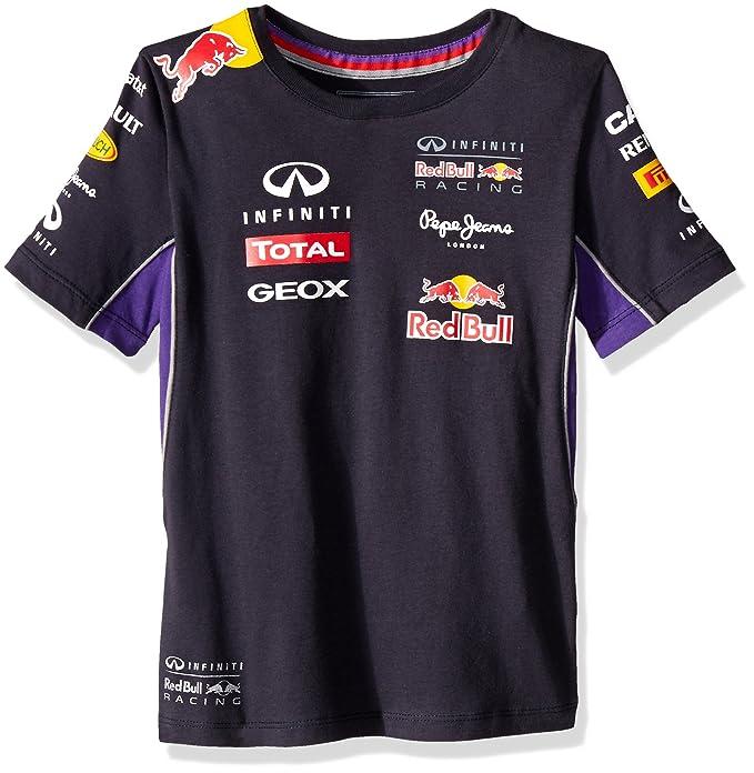 Red Bull - Camiseta de Manga Corta - para niño  Amazon.es  Ropa y ... b7d12caa2de