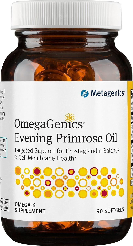 Metagenics OmegaGenics Evening Primrose Oil, 90 Count