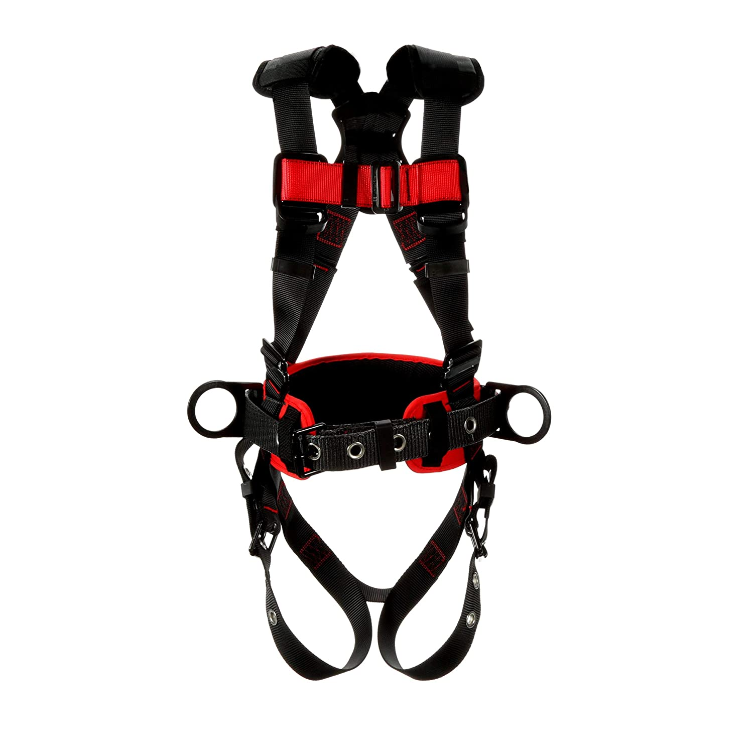 3M Fall Protection Business Protecta Construction Style Positioning Harness 1161308, Black, Small, 1 Each/Case