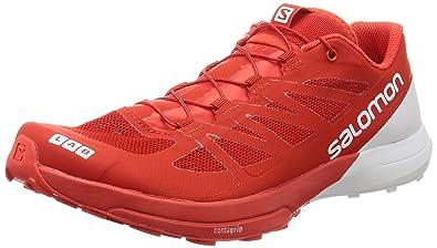 pretty nice bd599 3003d SALOMON S Lab Sense 6, Chaussures de Trail Mixte Adulte, Rouge (Racing