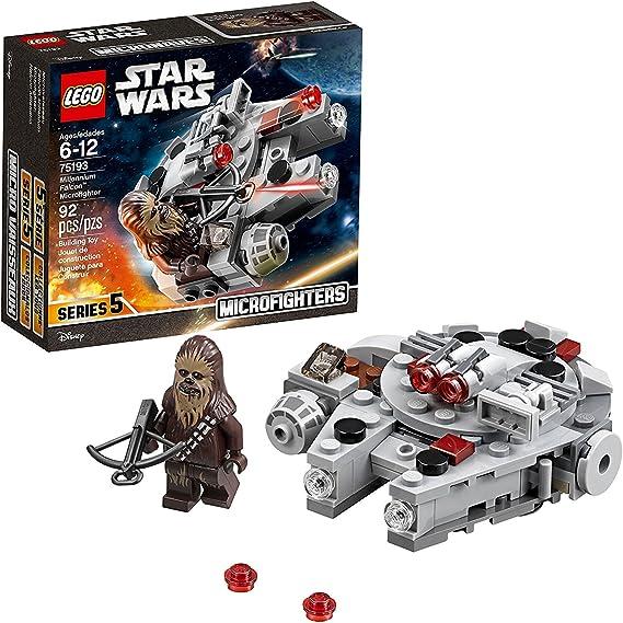 LEGO Star Wars Millennium Falcon Microfighter 75193 Building Kit (92 Pieces)
