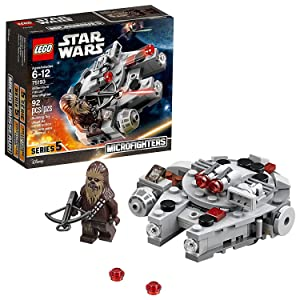 LEGO Star Wars Millennium Falcon Microfighter 75193 Building Kit (92 Pieces)