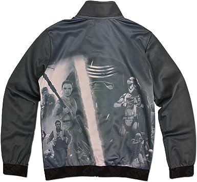 pómulo naranja felicidad  adidas Originals Star Wars Kylo REN Stormtrooper Rey Luke Children Firebird  Jacket: Amazon.co.uk: Clothing