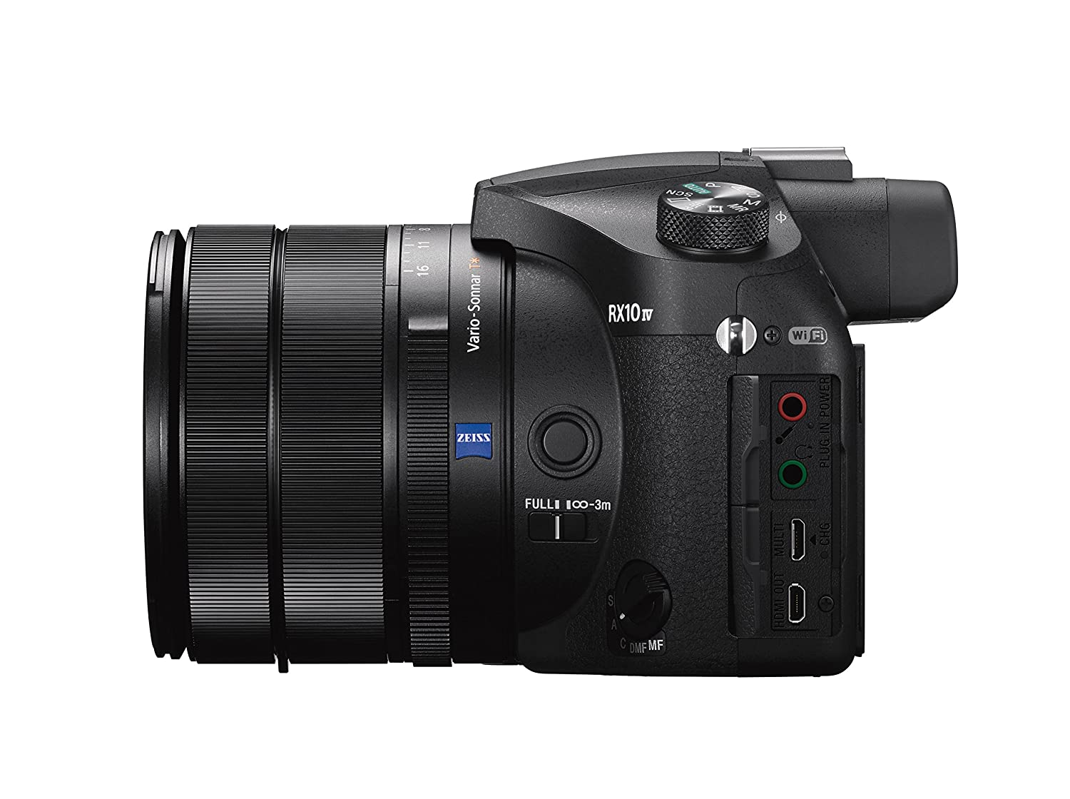 Sony Cyber‑Shot RX10 IV with 0 03 Second Auto-Focus & 25x Optical Zoom  (DSC-RX10M4)