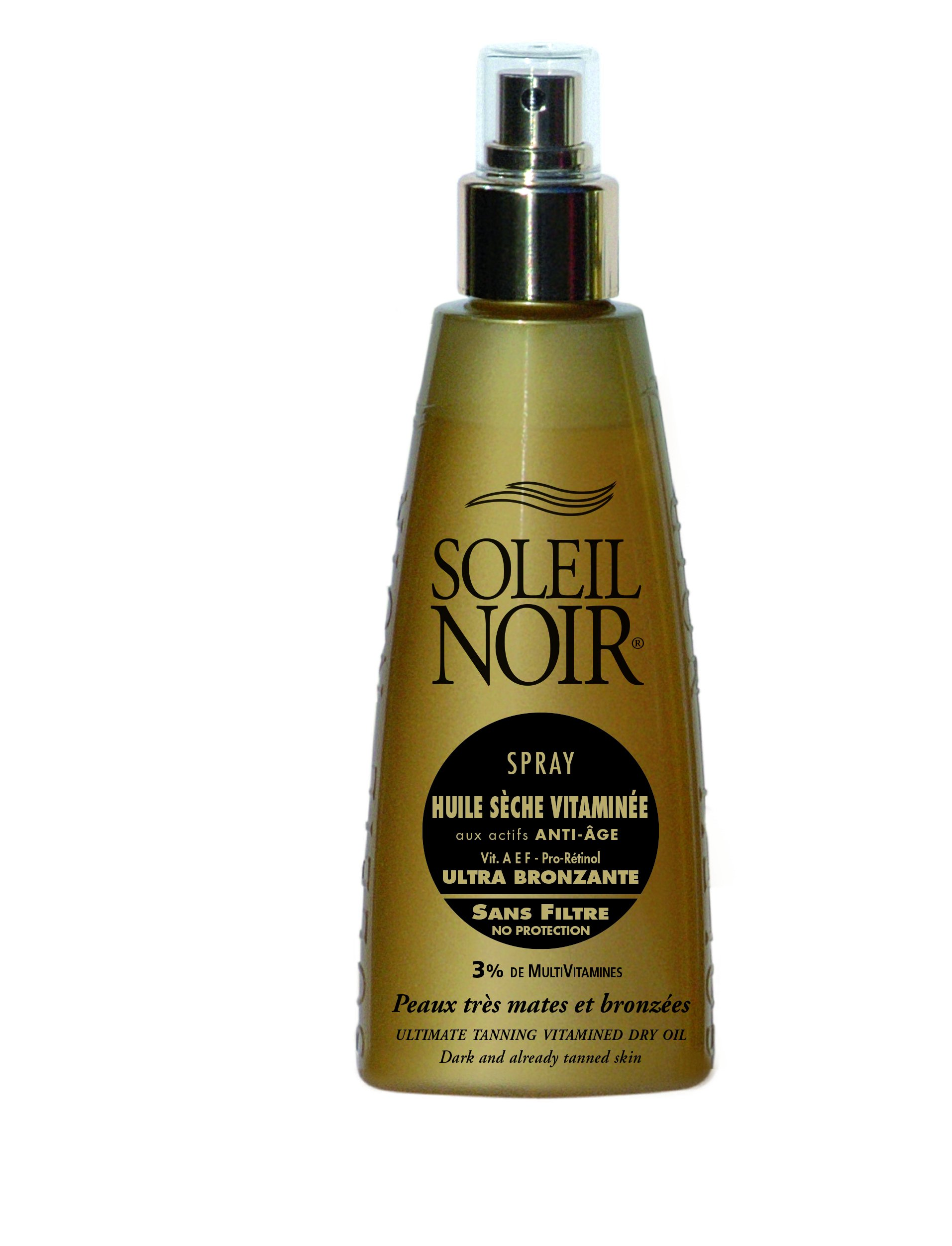 Soleil Noir Ultra Tanning Vitamined Oil No Protection 150ml