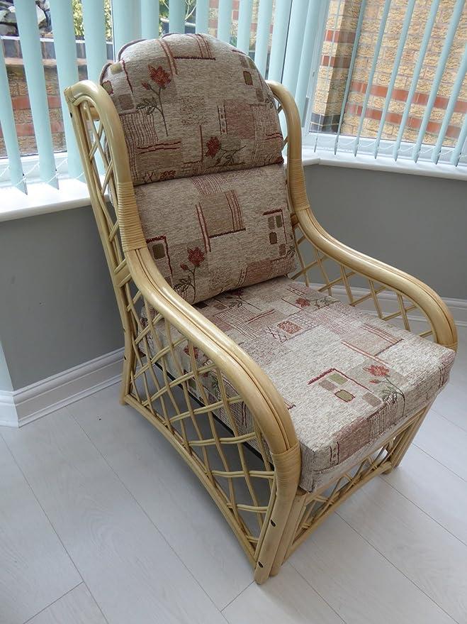 País Floral caña muebles pulcramente 3 piezas Conjunto sofá ...