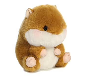 40dcf9430087 Buy Frolic Hamster Rolly Pet 5 inch - Stuffed Animal by Aurora Plush  (16808) Online at Low Prices in India - Amazon.in