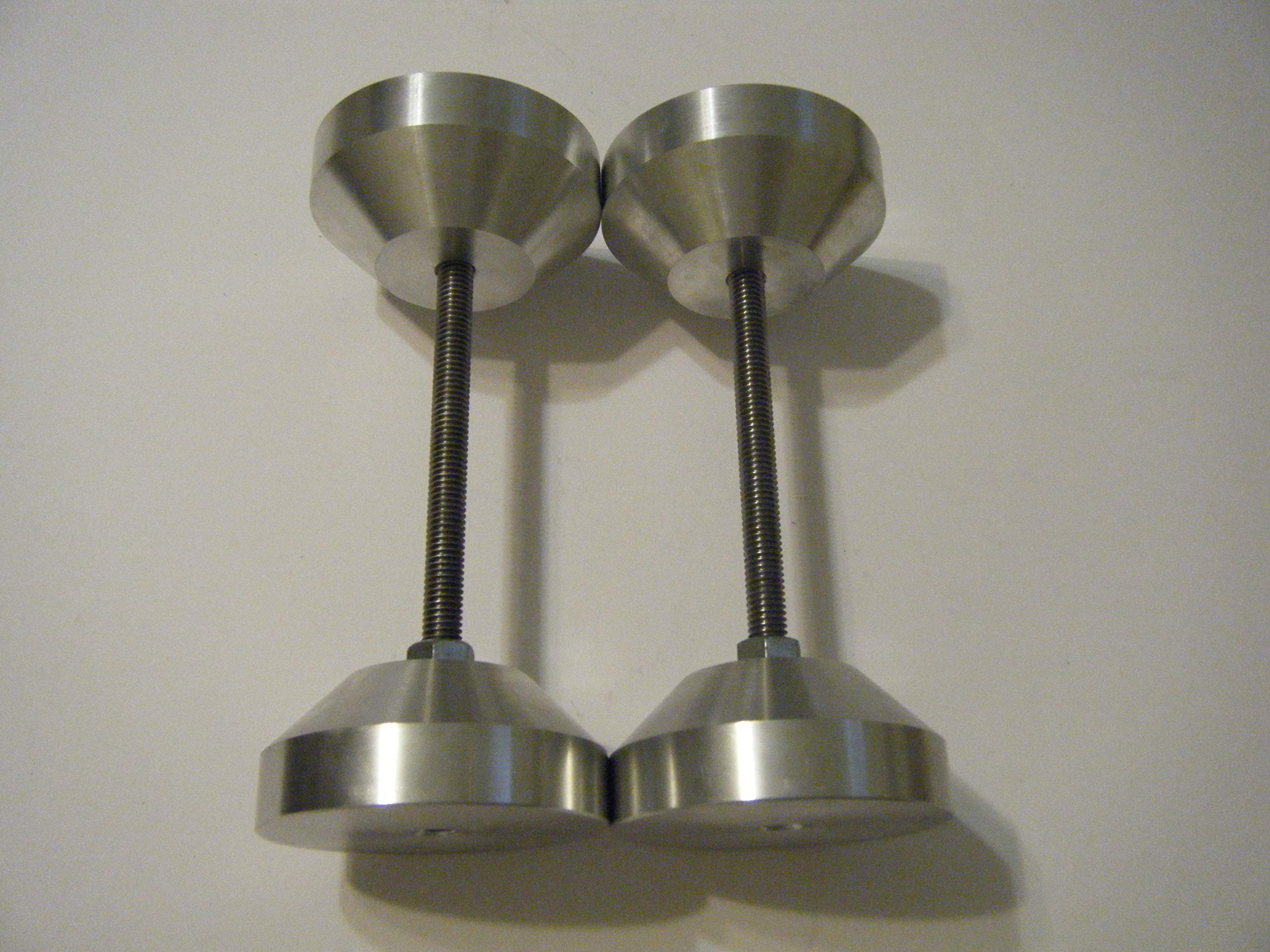 3'' Aluminum Two Hole Pins by Davis (Image #1)