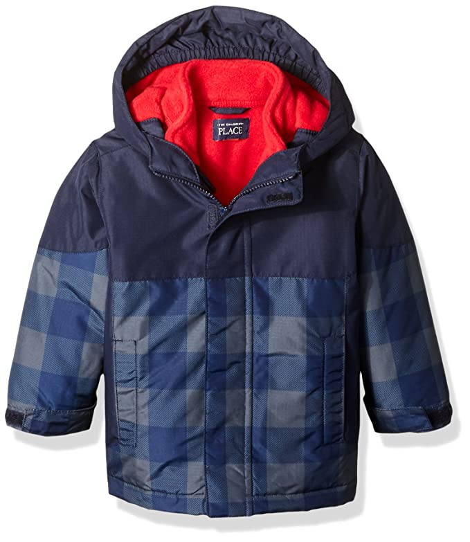 Amazon.com: The Childrens Place Baby Boys Toddler 3-in-1 Jacket, Gray Steel, 2T: Clothing