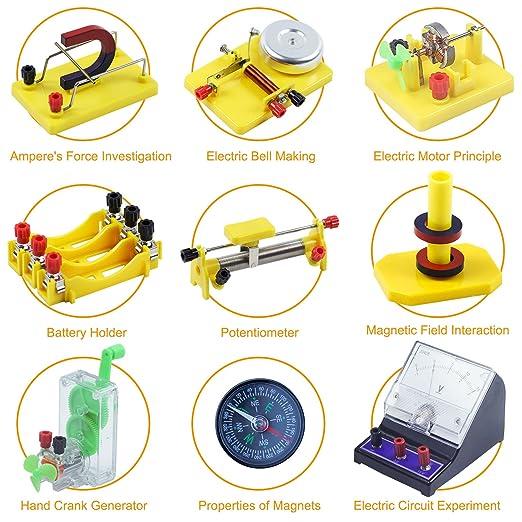 Amazon.com: Teenii STEM Physics Science Lab Basic Circuit Learning on