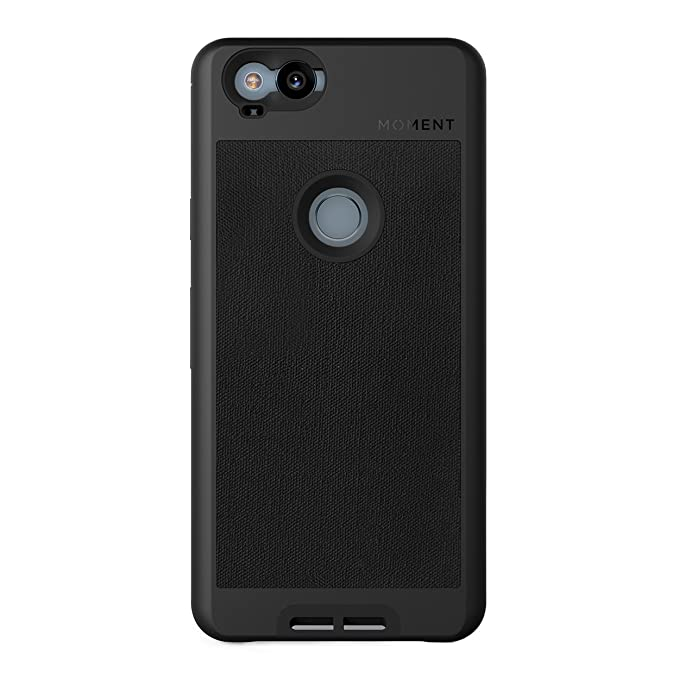 the best attitude 402f0 9b895 Pixel 2 Case || Moment Photo Case in Black Canvas - Thin, Protective, Wrist  Strap Friendly case for Camera Lovers.