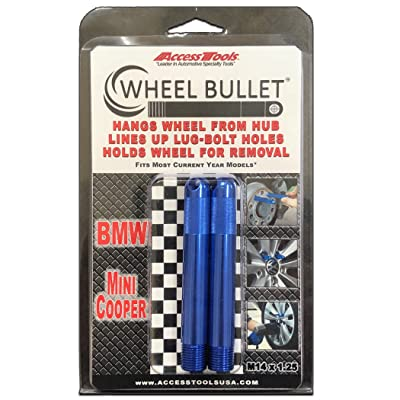 Access Tool WB2-14125BLUE Wheel Bullet, 2 Pack: Automotive