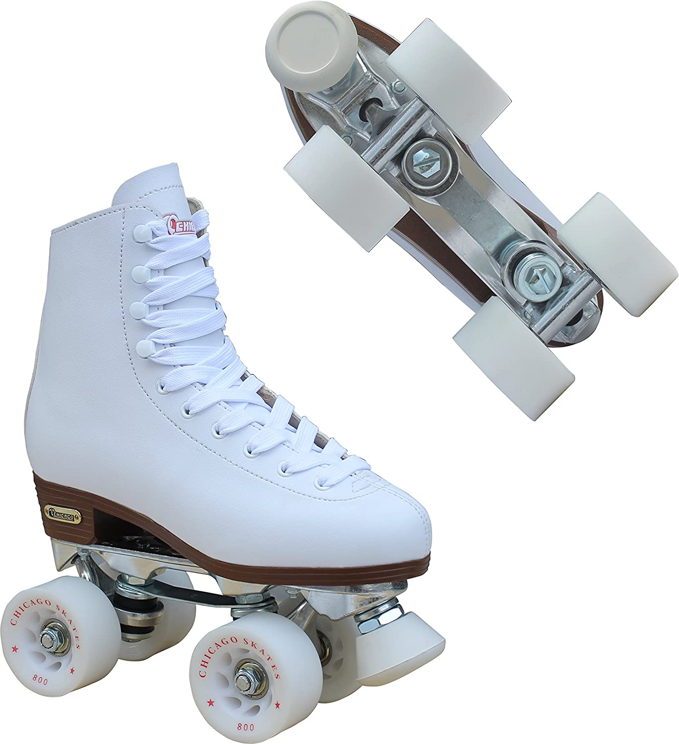 Chicago Women's Premium Leather Lined Rink Roller Skate - 2