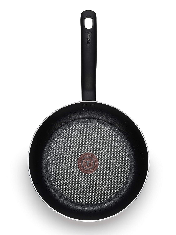 T-fal A821S2 Initiatives - Juego de sartenes anti-adherentes para lavavajillas, sin PFOA, color gris (20 y 25 cm): Amazon.es: Hogar