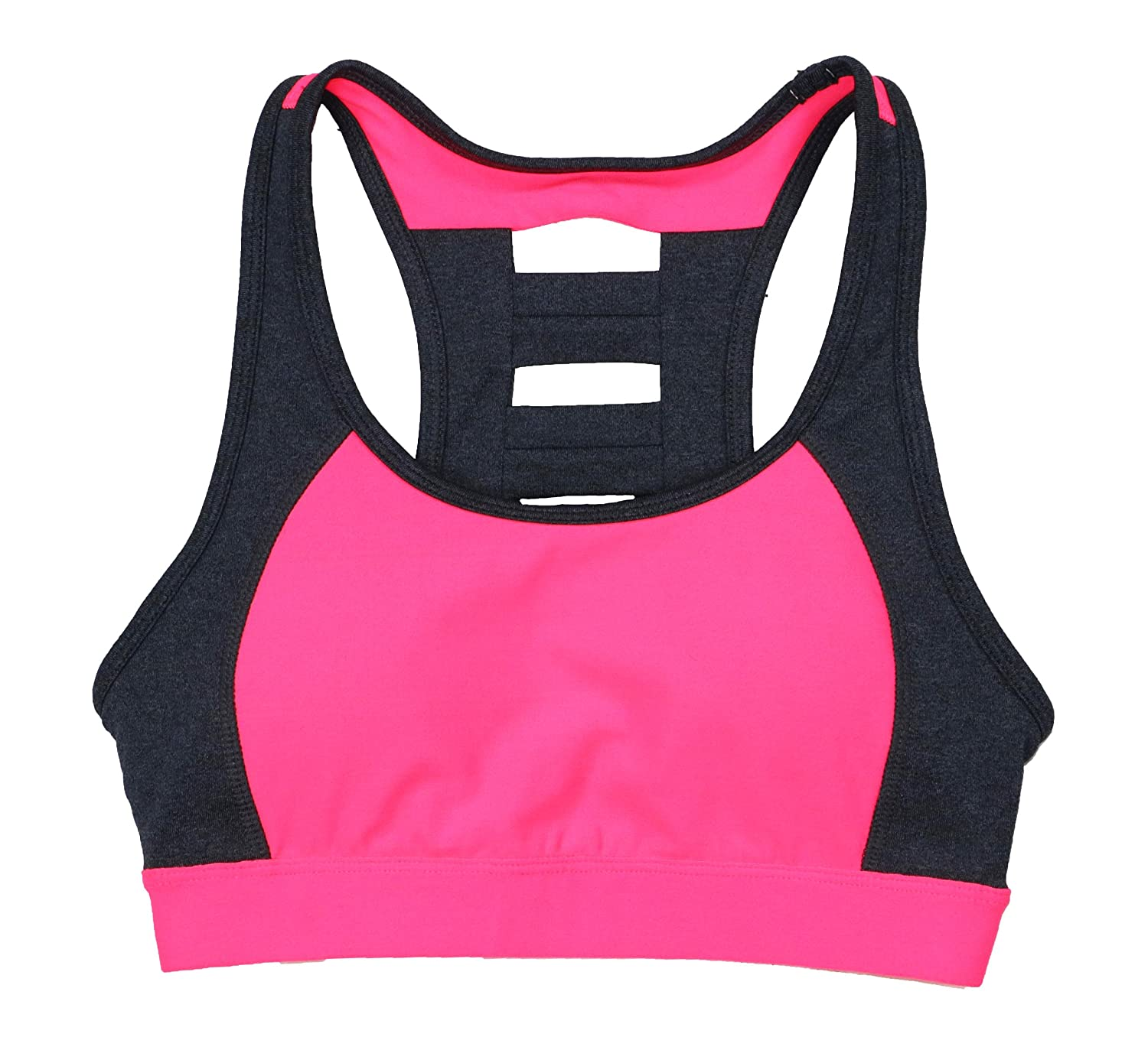 Ideology Womens Ladder-Back Mid-Impact Sports Bra