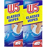 Toallitas de limpieza (1 caja – 54 piezas) apto para limpiar gafas, cámaras, prismáticos, coche espejos, visores…