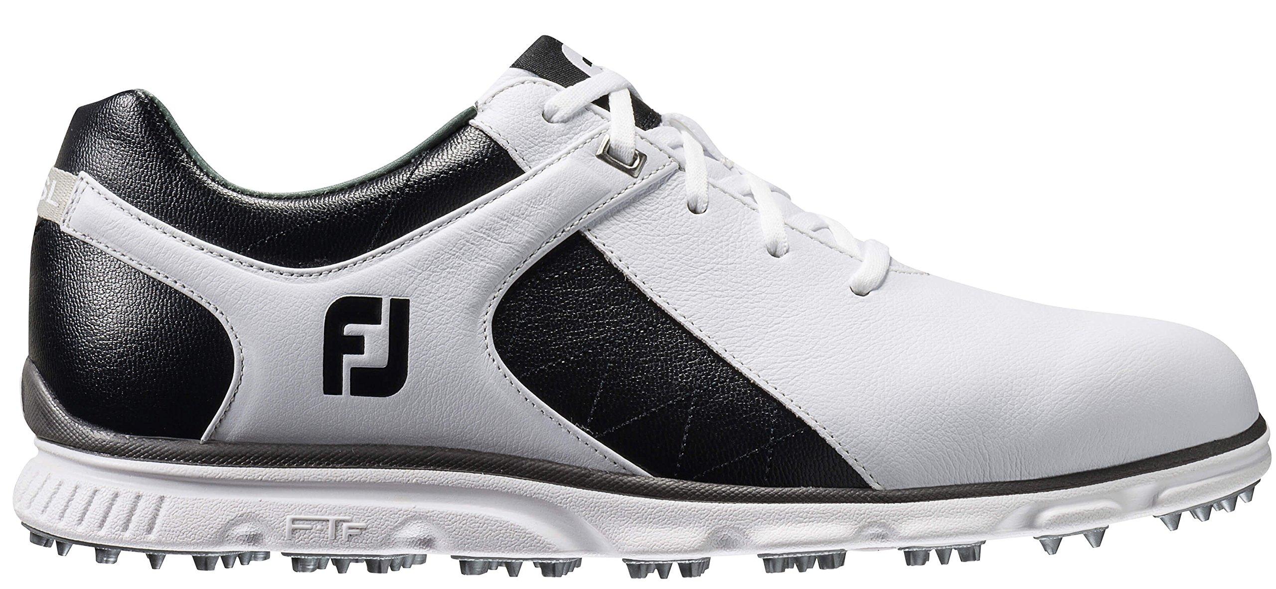 FootJoy Men's Pro/SL-Previous Season Style Golf Shoes White 8 M Black, US