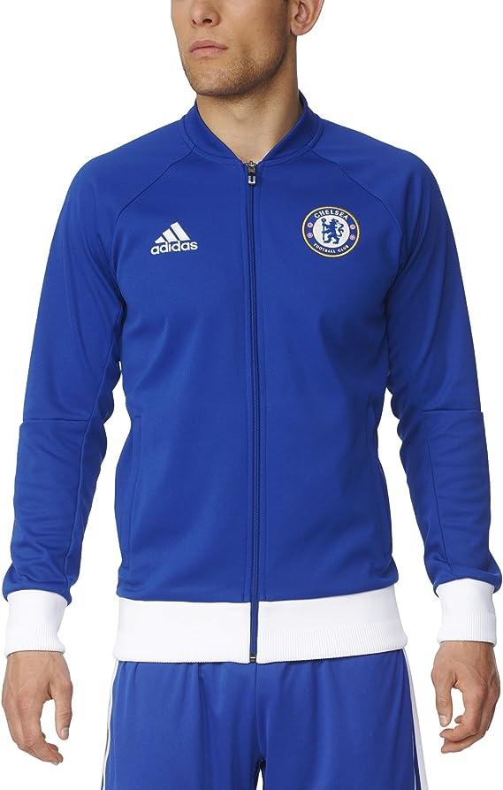 adidas hombres de Chelsea FC Anthem chaqueta de chándal: Amazon.es ...