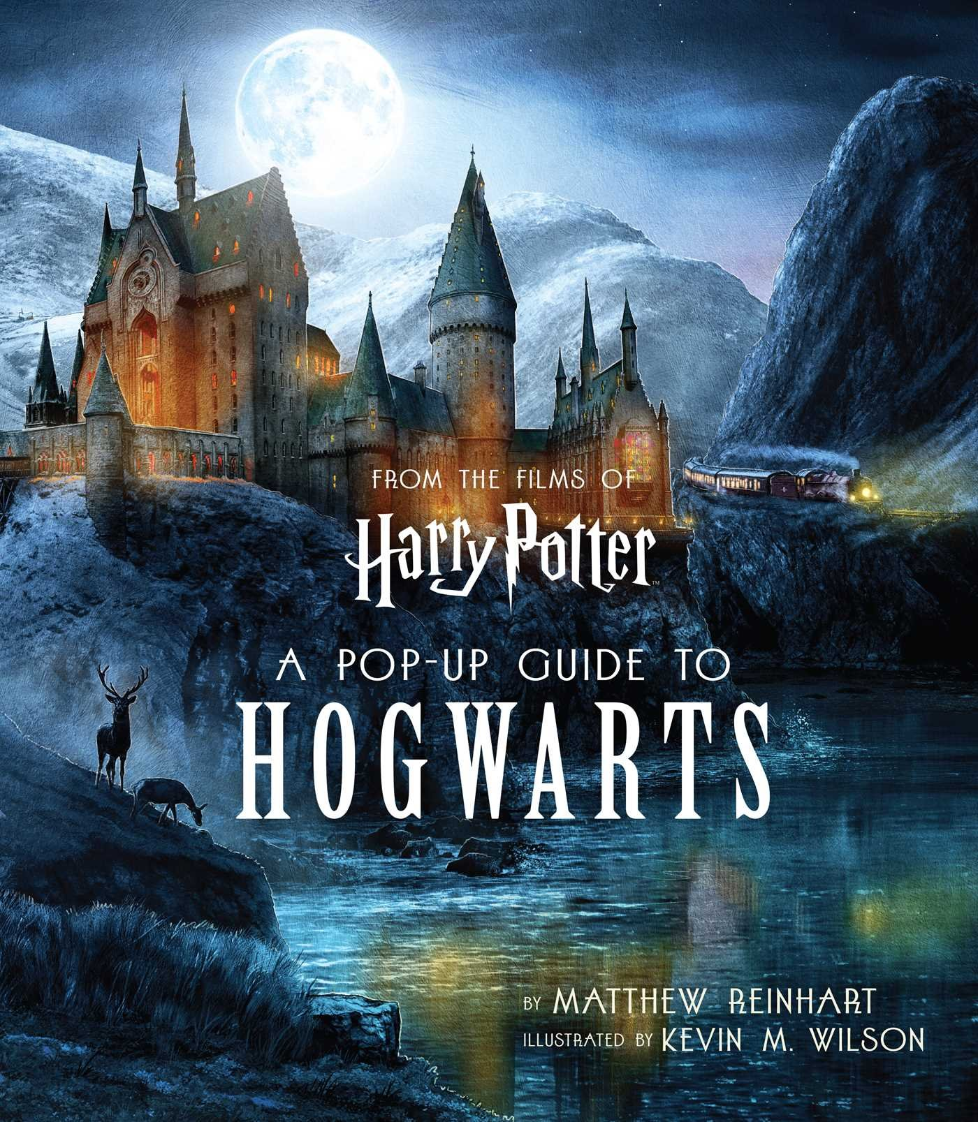 Harry Potter: A Pop-Up Guide to Hogwarts by Insight Editions