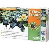 Velda 126666 Elektronischer Entferner gegen Faden- und Schleimalgen durch Kupferionen, Teich bis 75000 Liter, T-Flow Tronic 75