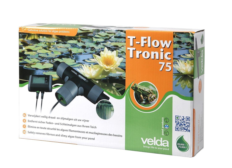 Velda, anti-algues électronique pour bassin d'agrément, T-Flow Tronic 75, 126666