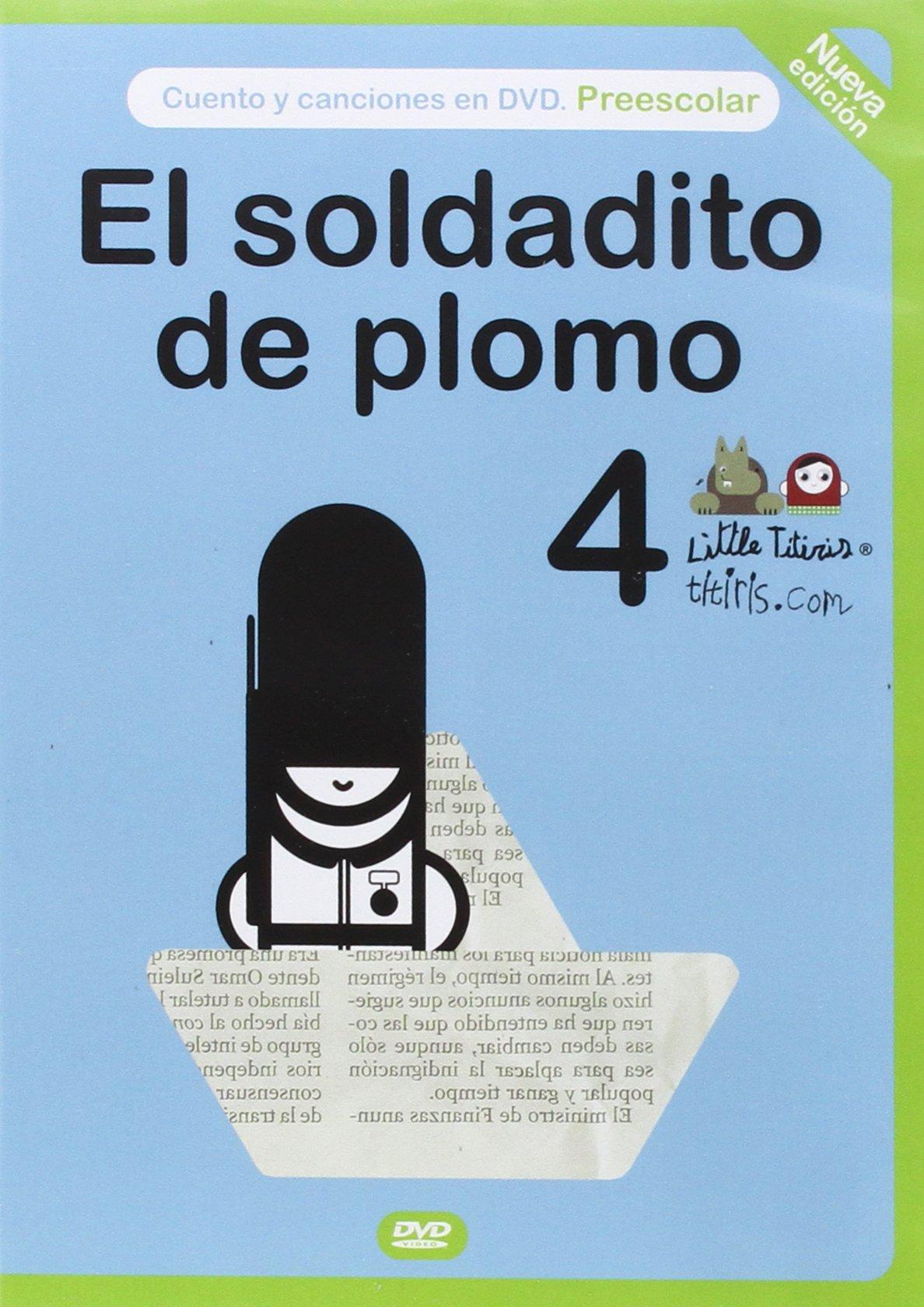 DVD. SOLDADITO DE PLOMO, EL + LIBRO + ESTUCHE: Mónica ...
