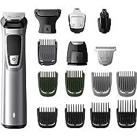 Philips MG7730/15 - Recortadora todo en uno 16 en 1, para barba, pequeños detalles, vello, nariz y orejas, cortapelos, depiladora corporal cara, cuerpo, cabeza
