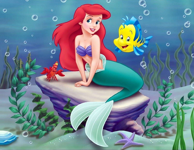 Amazon.com: La Sirenita Ariel Comestible imagen foto ...