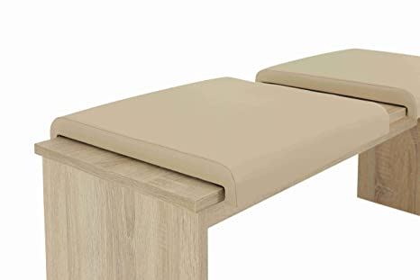 Banco de madera de los cojines de asiento de sujeción para ...