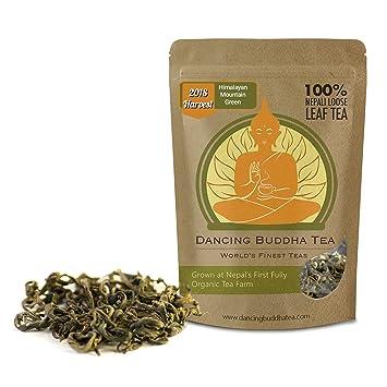 Amazon Com Himalayan Mountain Green Tea From Nepal 50 Grams 25