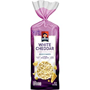 Quaker Rice Cakes, White Cheddar, 5.46 Ounce