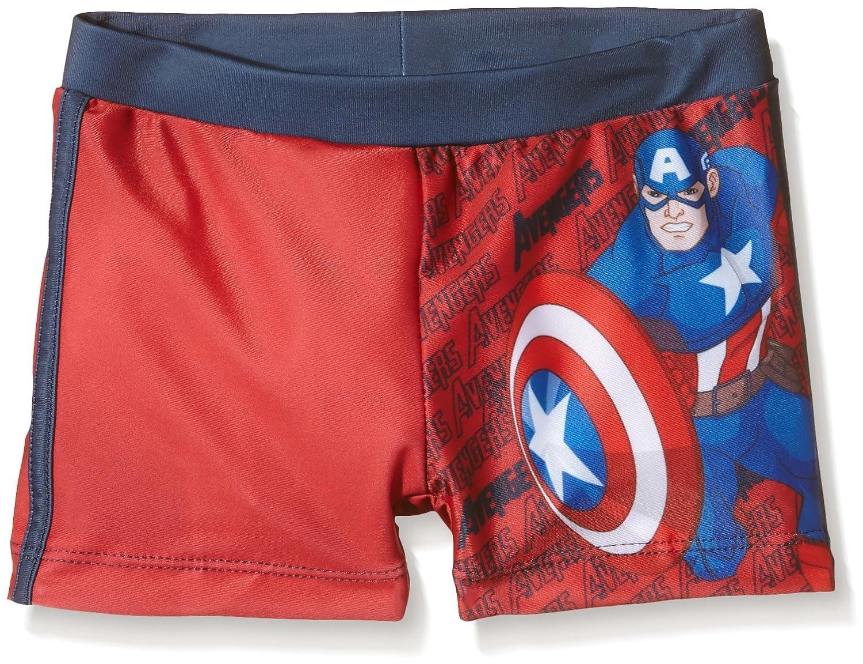 Hasbro Bañador Boxer Capitan America, Costume da Bagno Bambino 2200001037-A04-C00
