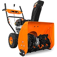 WEN SB24E 24-Inch 212cc Two-Stage Self-Propelled Gas-Powered Snow Blower, Electric Start