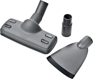 Electrolux KIT03B Vacuum Cleaner Kit for Households with Pets - 1 Special Anti-Fur Brush + 1 Extra-Wide Sucker + 1 x 35 mm Adaptor