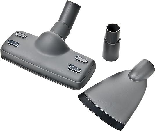 Electrolux KIT03B - Juego de accesorios para aspiradora (1 cepillo especial para el pelo de animales, 1 boquilla extragrande, 1 adaptador de 35 mm): Amazon.es: Hogar