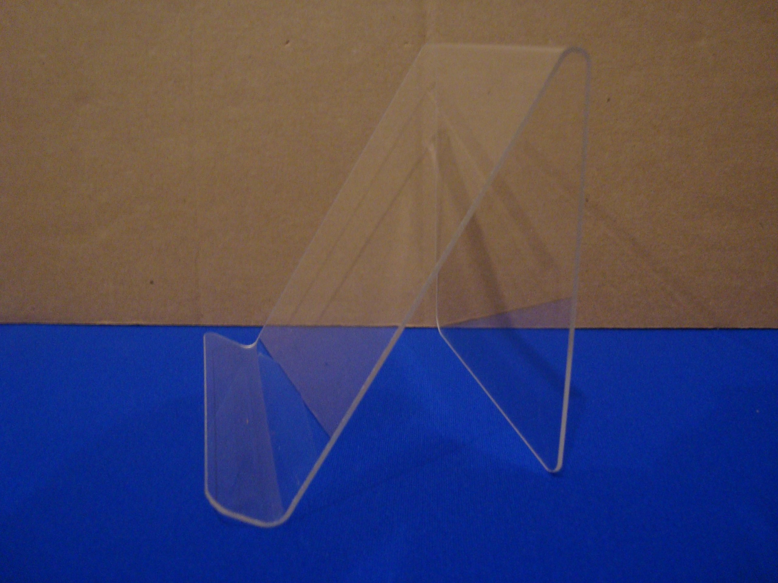 Source One 6'' Acrylic Easel Book Holder Rack Stand (6 Pack)