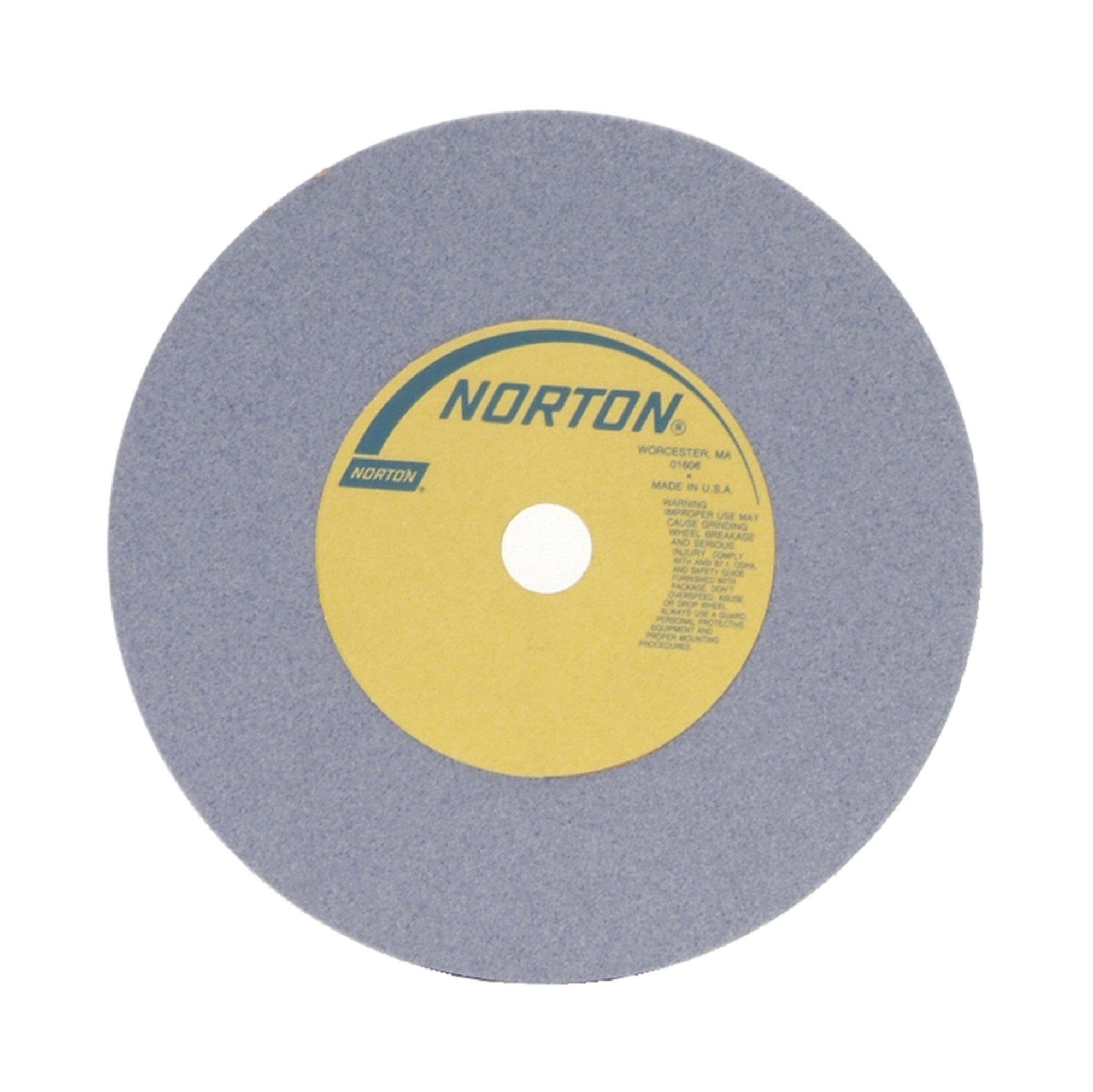 Grinding Wheel, T1, 10x1x3, Aluminum Oxide, 60G, Med, Prpl