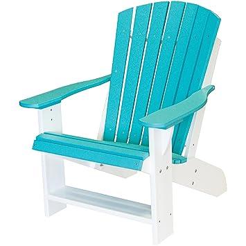 Amazon.com : Wildridge Recycled Plastic Heritage Adirondack Chair ...
