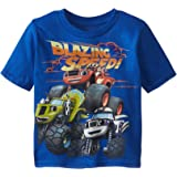 Nickelodeon Blaze and The Monster Machines Boys' Short Sleeve T-Shirt