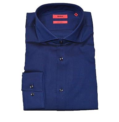 89b222214 Amazon.com: Hugo Boss C-Jason Slim Fit Mens Formal Shirts (18 ...