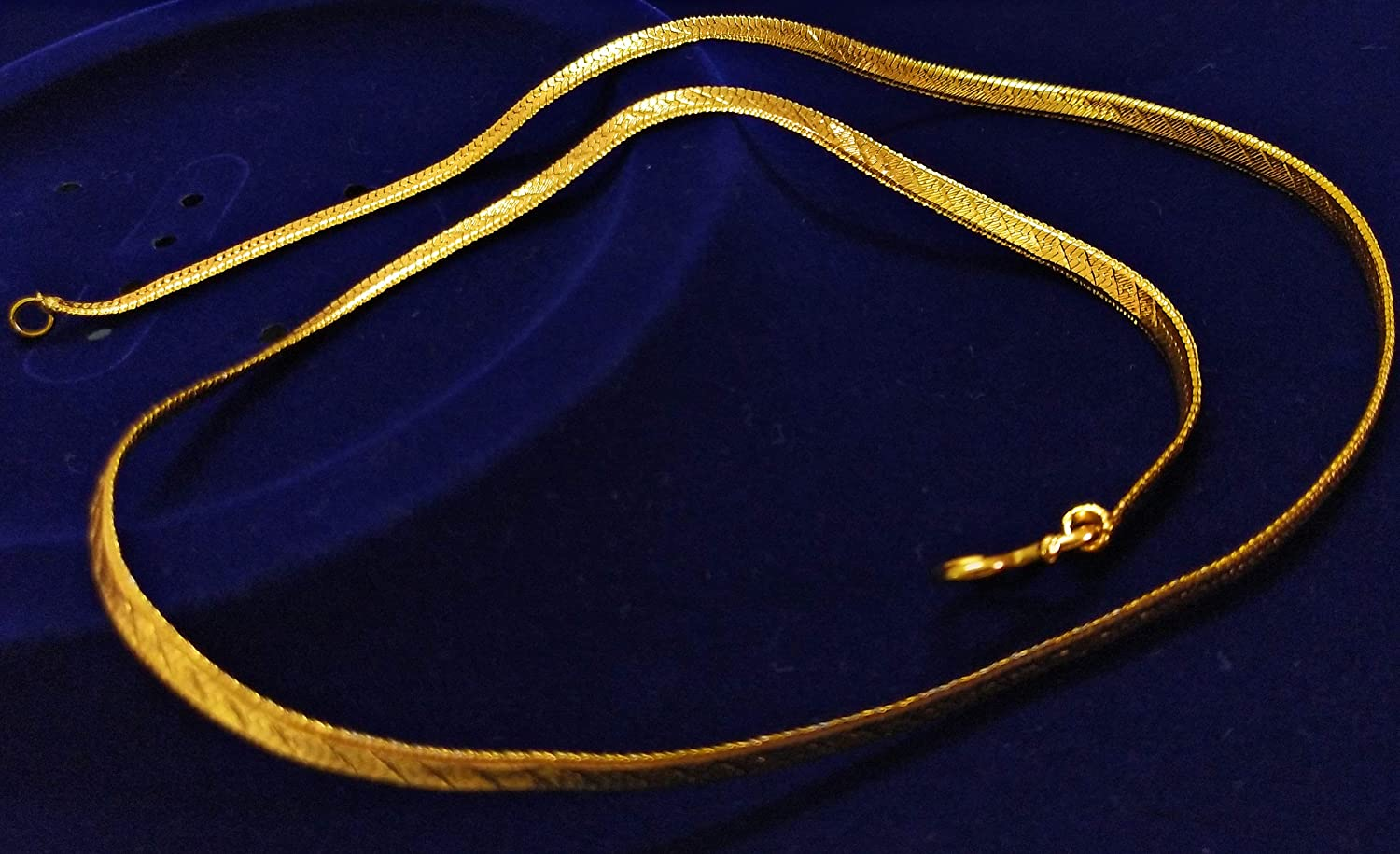 Parakeet House Antique Plain Chain with Gold Plating