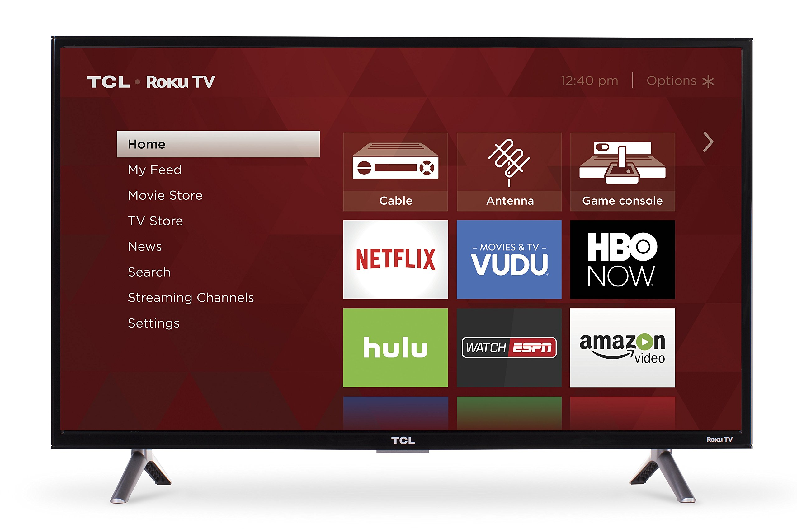 TCL 32S305 32-Inch 720p Roku Smart LED TV (2017 Model) by TCL