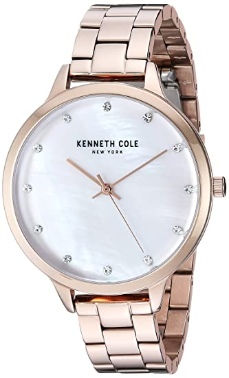 Kenneth Cole New York Mujer Reloj Reloj de pulsera acero inoxidable kc15056007: Amazon.es: Relojes